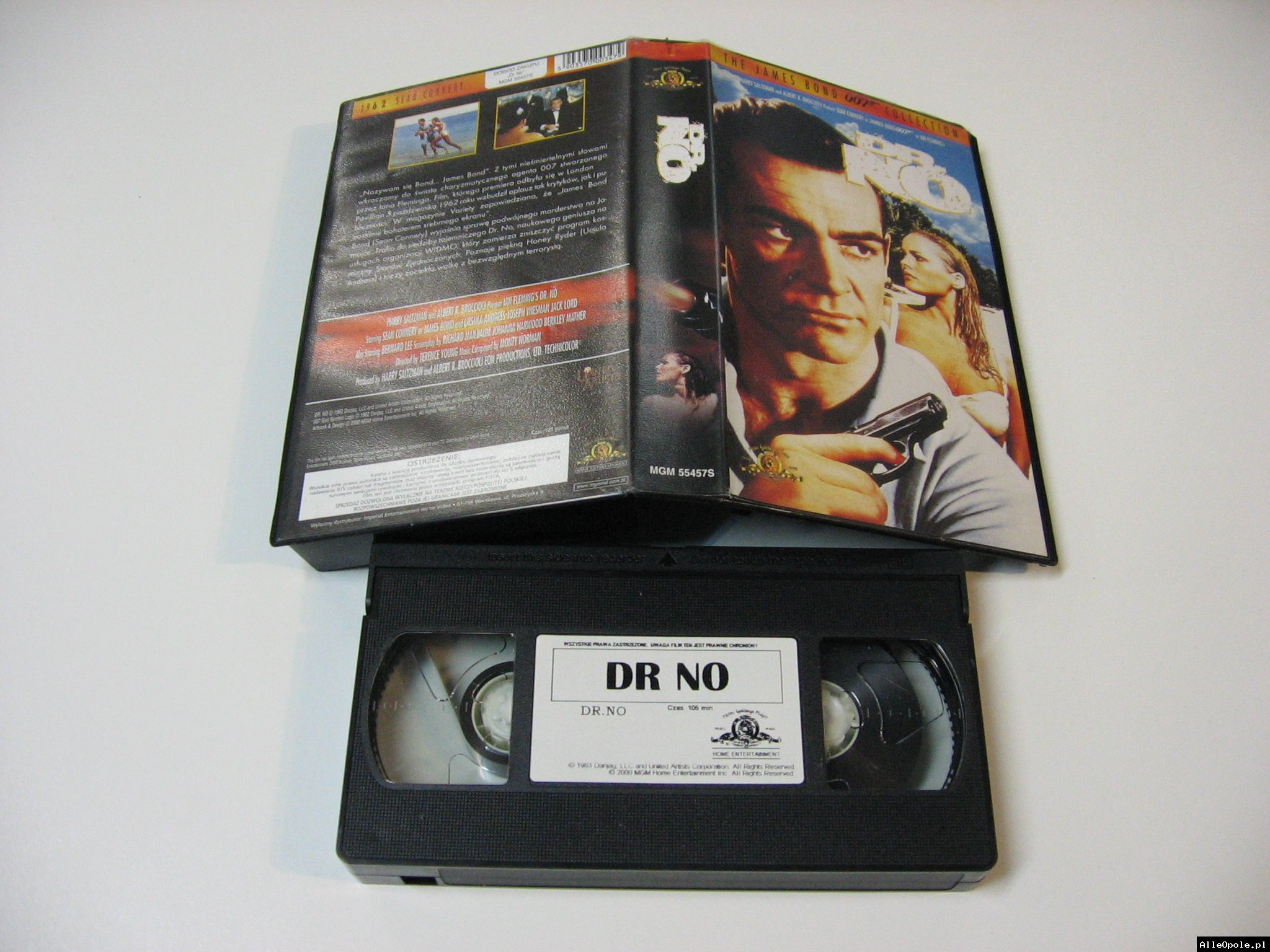 007 DR NO - VHS Kaseta Video - Opole 1739
