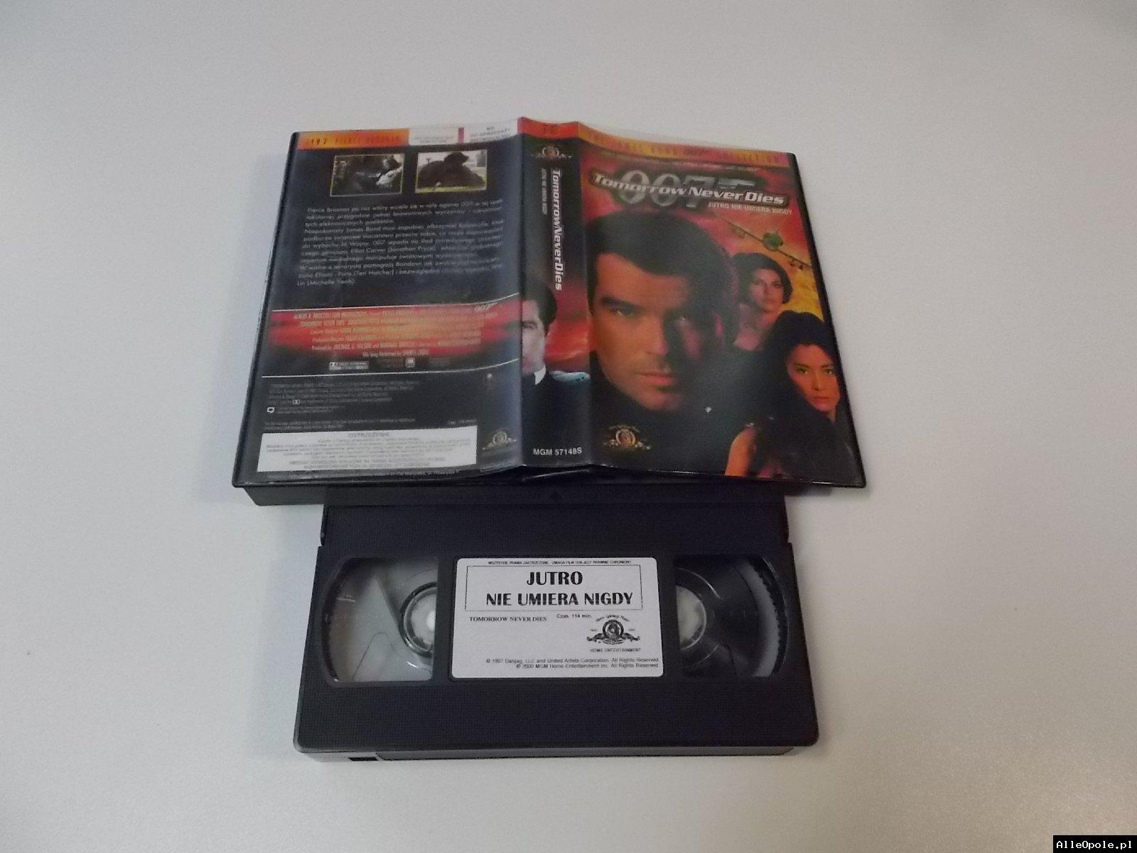 007 JUTRO NIE UMIERA NIGDY - VHS Kaseta Video - Opole 1712