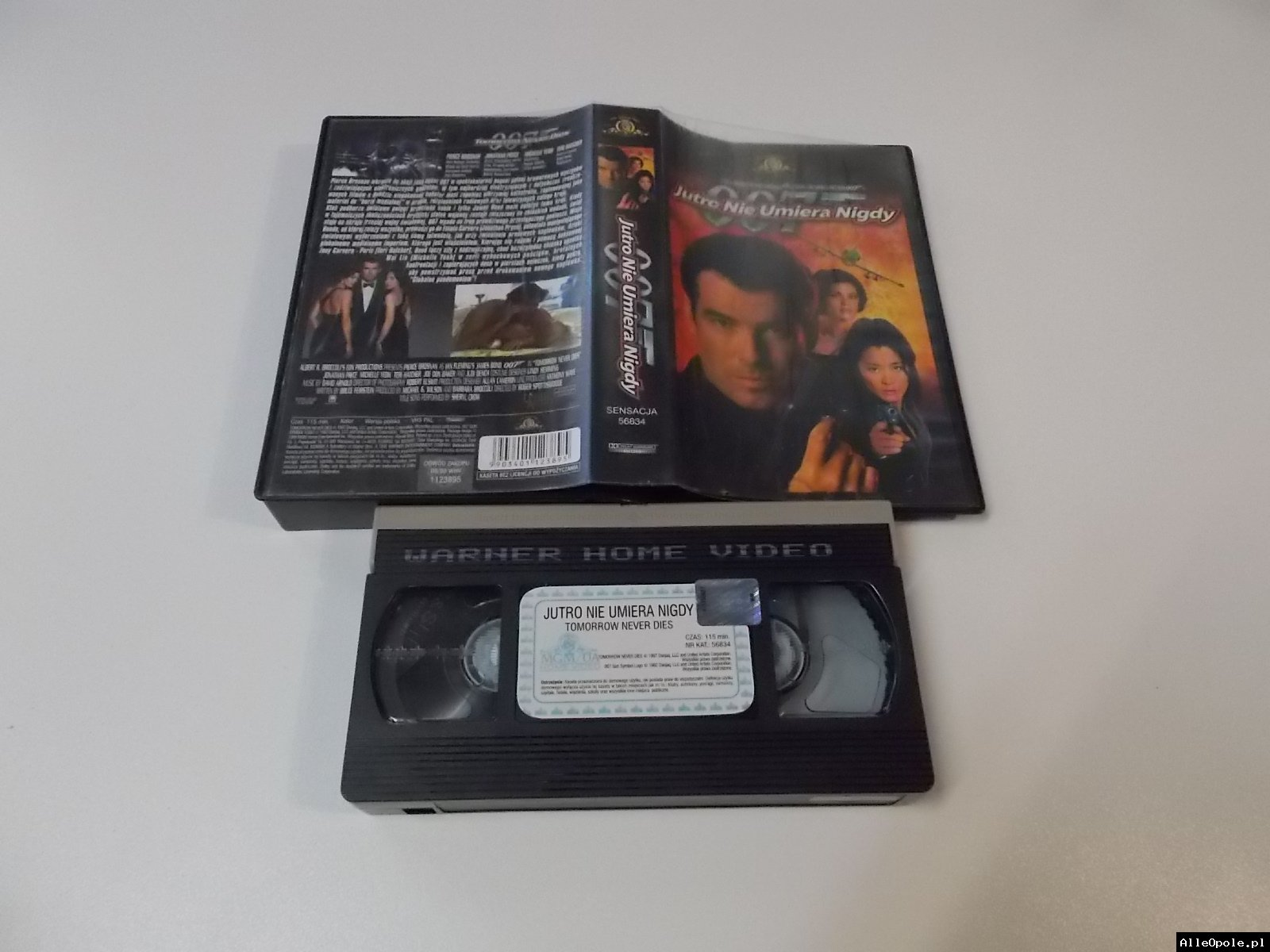 007 JUTRO NIE UMIERA NIGDY - VHS Kaseta Video - Opole 1713