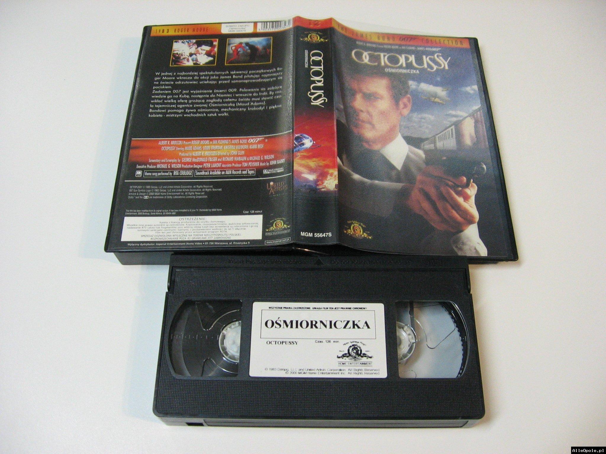 007 OŚMIORNICZKA - VHS Kaseta Video - Opole 1726