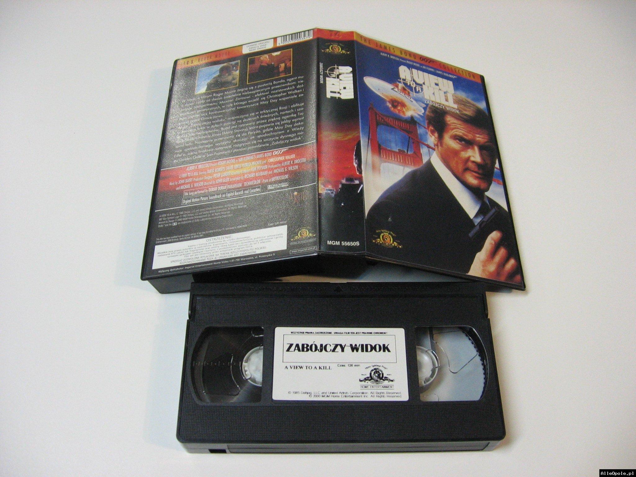 007 ZABÓJCZY WIDOK - VHS Kaseta Video - Opole 1733