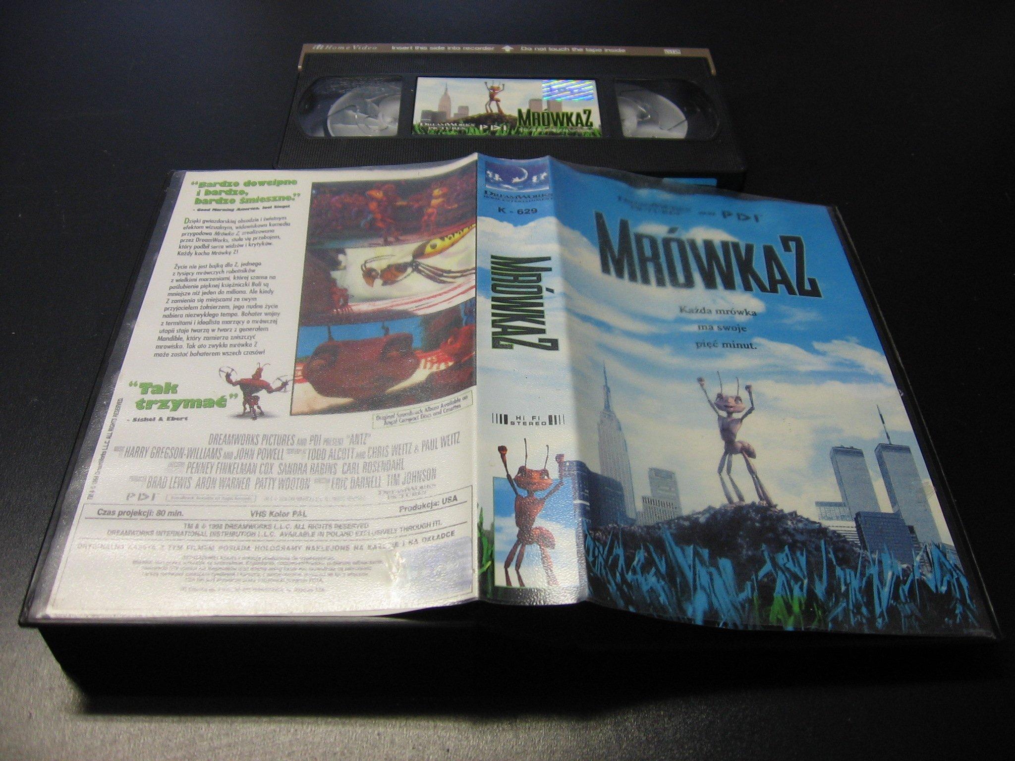 MRÓWKA Z  VHS - Opole 0011