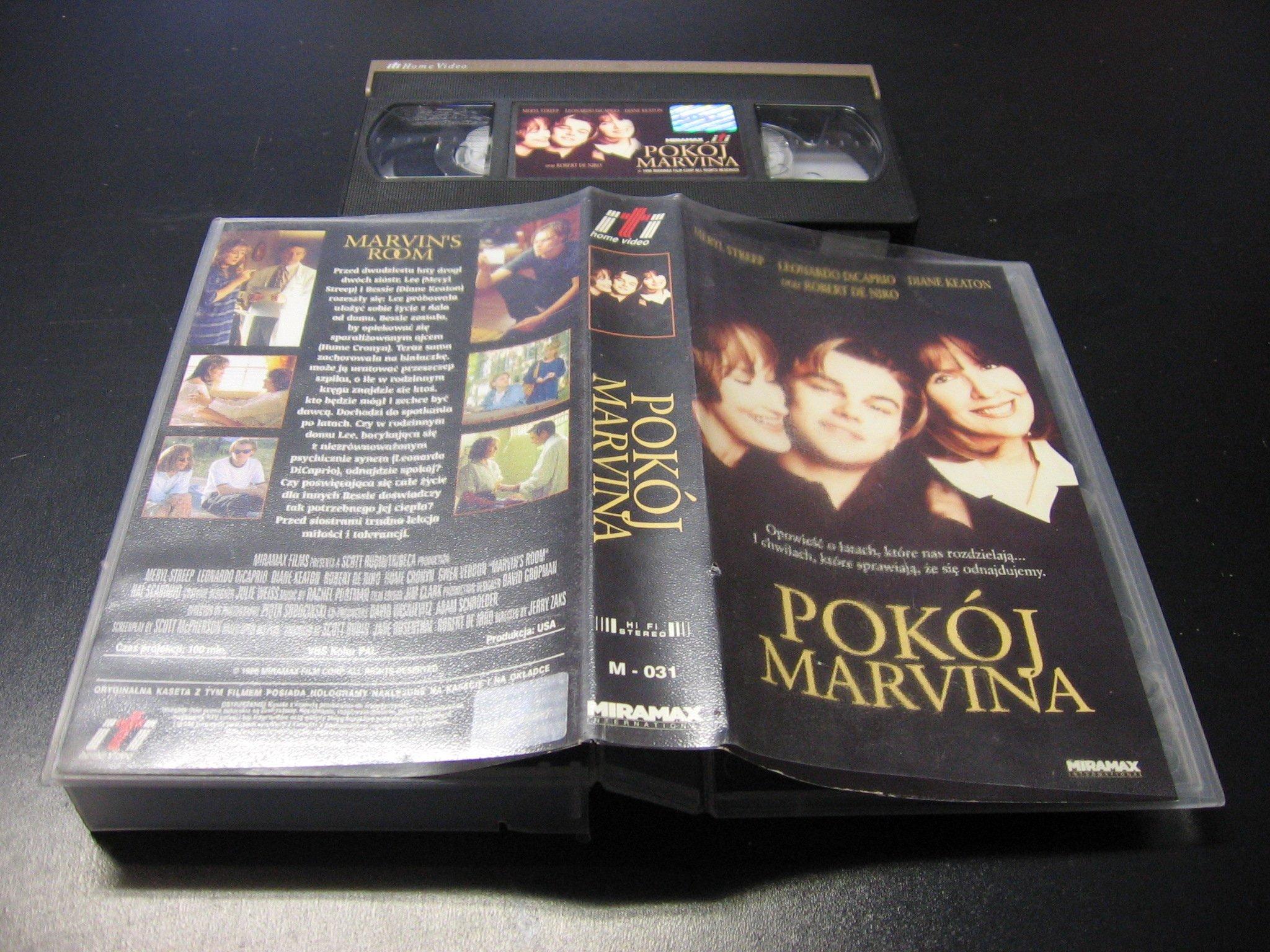POKÓJ MARVINA ```````````` VHS ```````````` Opole 0026
