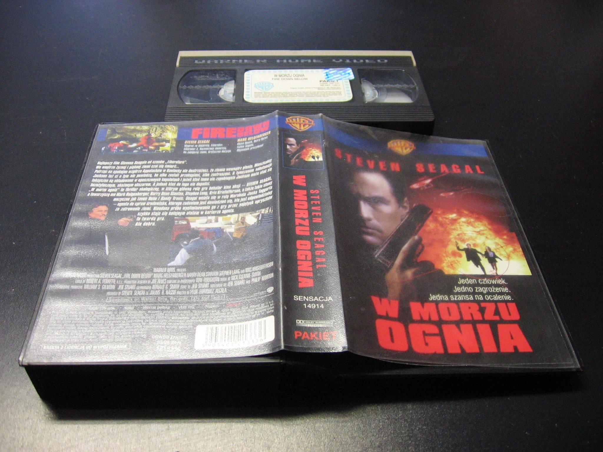 W MORZU OGNIA VHS - Opole 0018