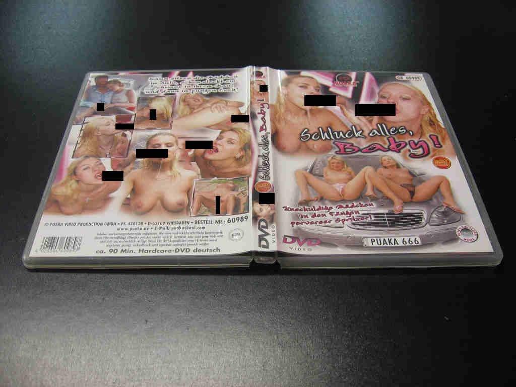 SCHLUCK ALLES BABY porno  DVD - Opole