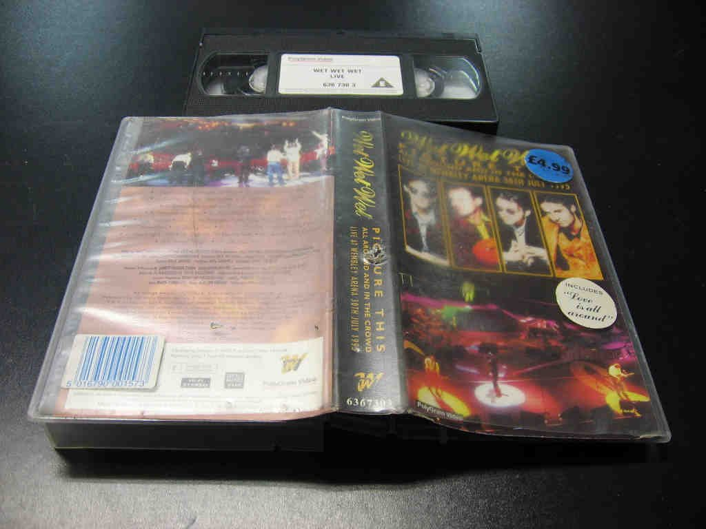 WET WET WET - Picture This - VHS - Opole