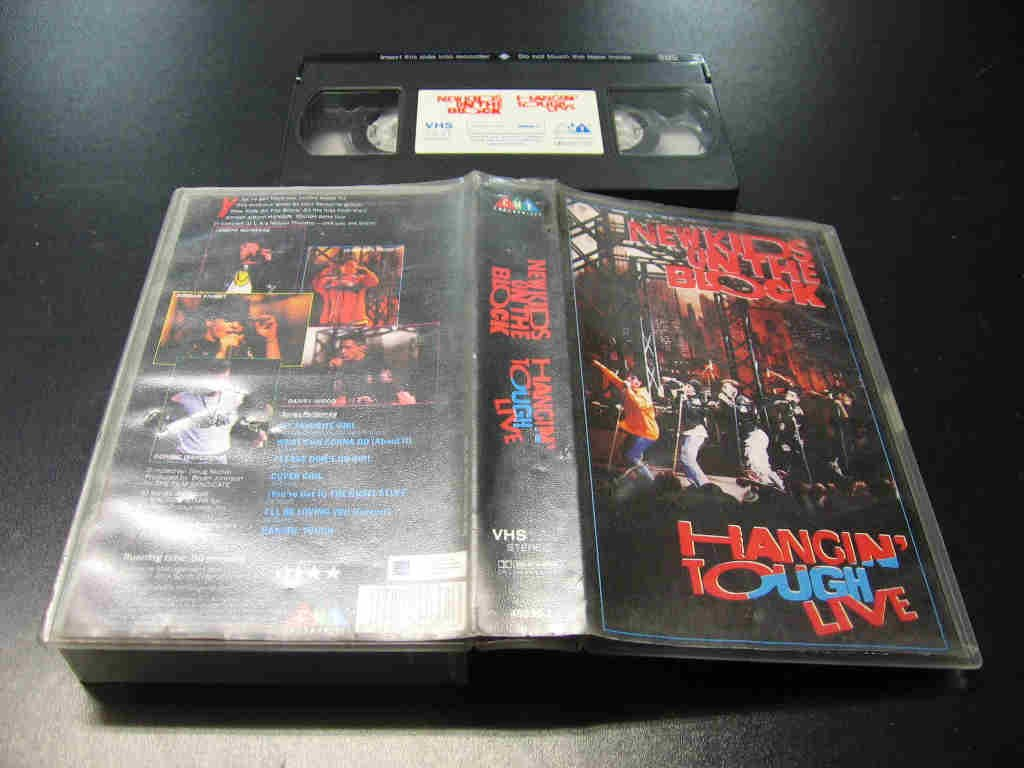 NEW KIDS ON THE BLOCK - Hangin' Tough - VHS - Opole