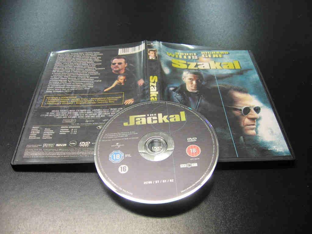 SZAKAL - Jackal - Gere , Willis - DVD - Opole