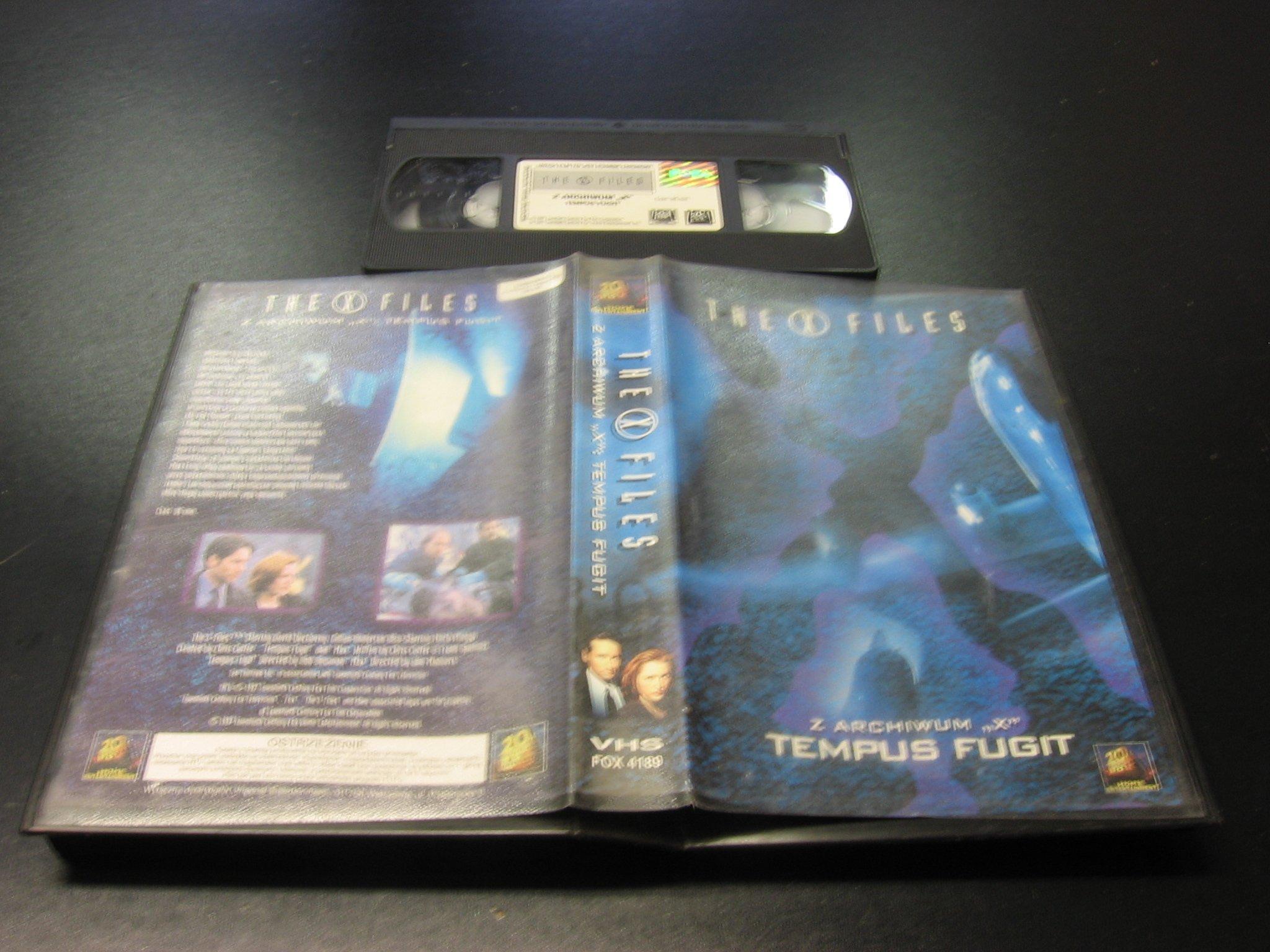 Z ARCHIWUM X - TEMPUS FUGIT ```````````` VHS ```````````` Opole 0393