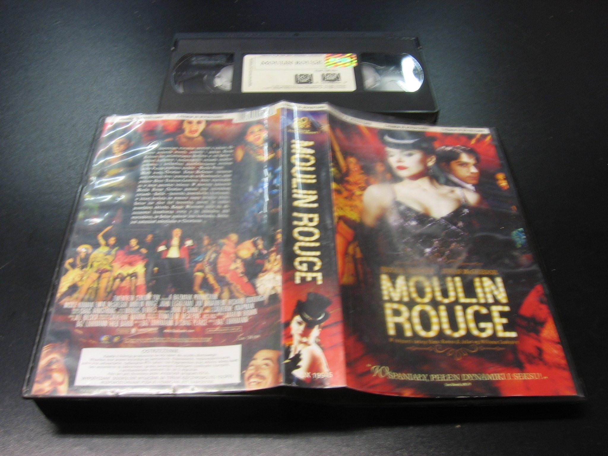 MOULIN ROUGE ```````````` VHS ```````````` Opole 0434