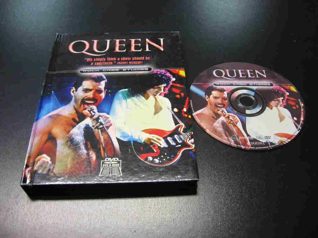 QUEEN - ROCK CASE STUDIES DVD - Opole