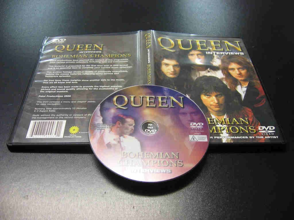 QUEEN - BOHEMIAN CHAMPIONS INTERVIEWS DVD - Opole