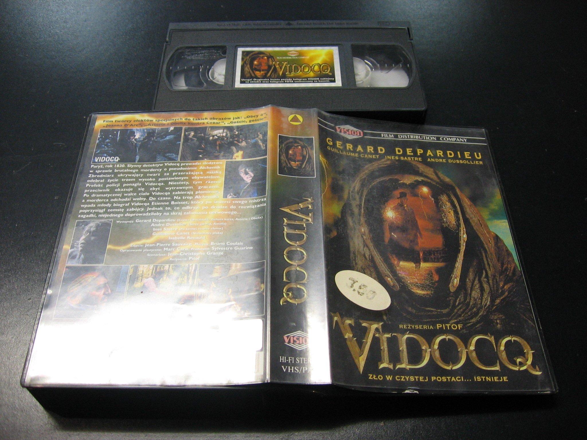 VIDOCQ ```````````` VHS ```````````` Opole 0616