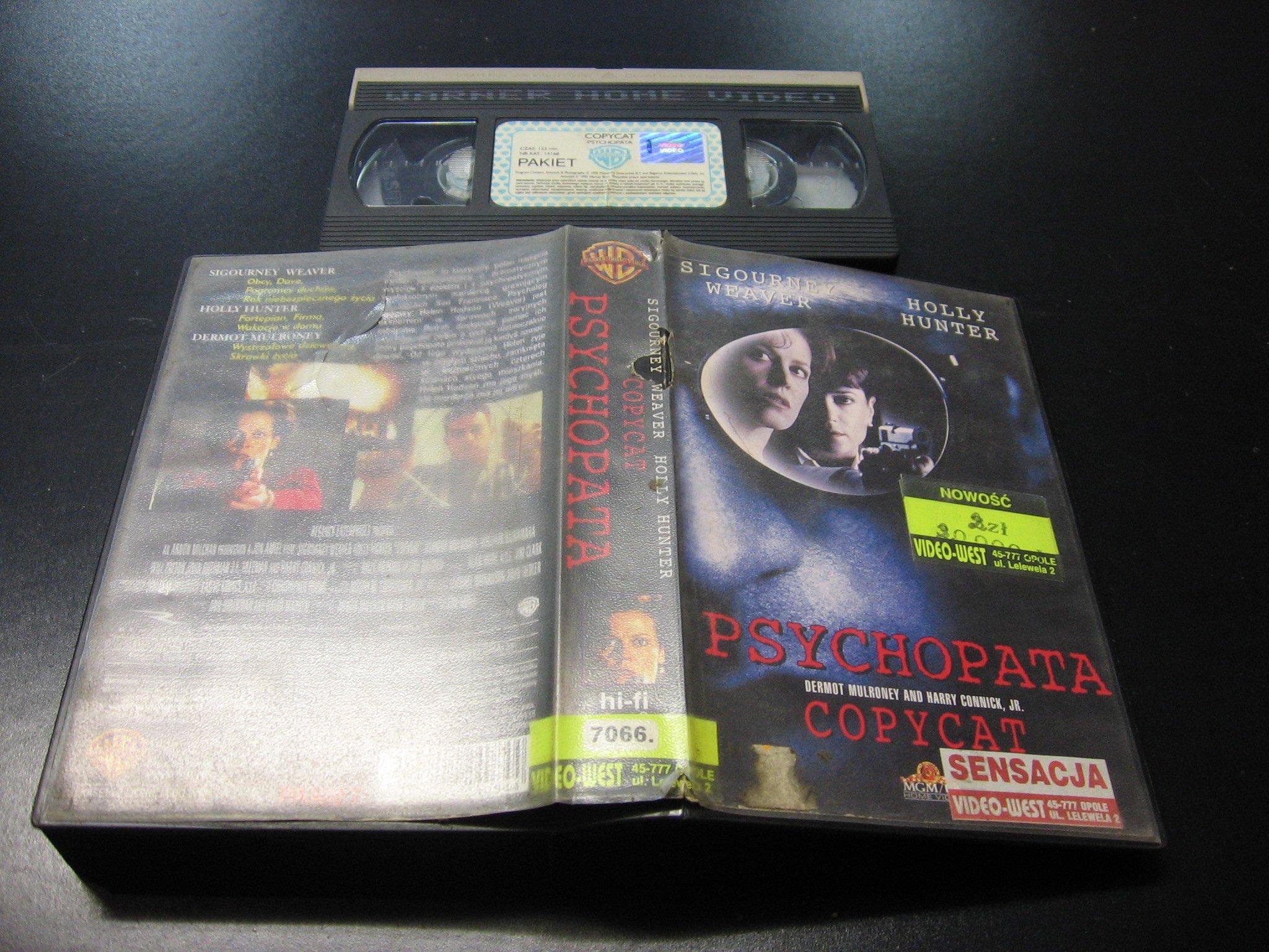 PSYCHOPATA ```````````` VHS ```````````` Opole 0620