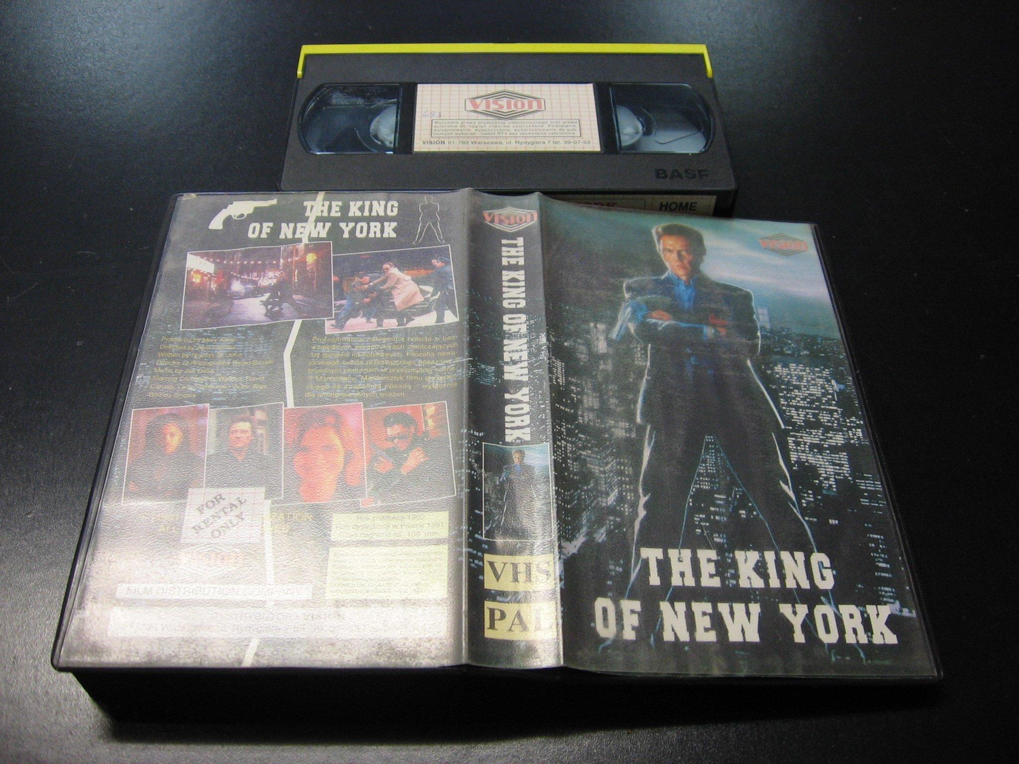 KRÓL NOWEGO YORKU ```````````` VHS ```````````` Opole 0628