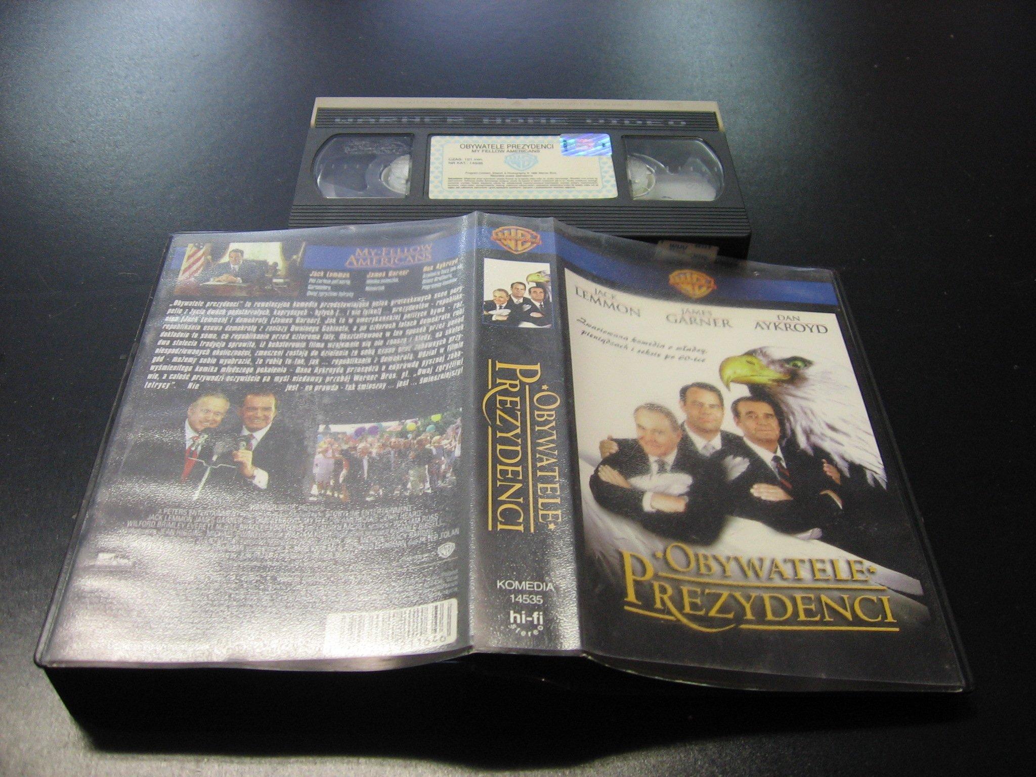 OBYWATELE PREZYDENCI ```````````` VHS ```````````` Opole 0646