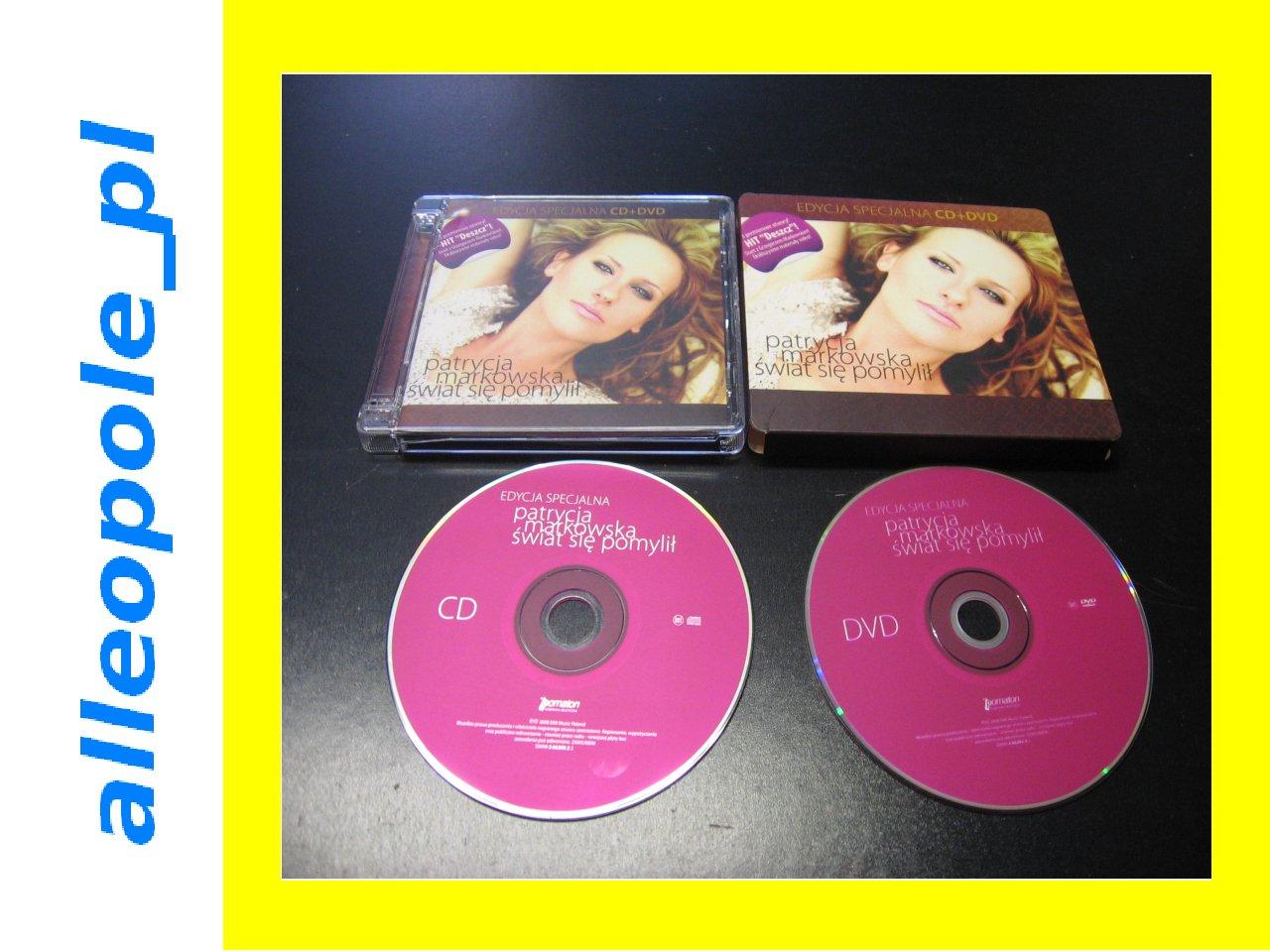 PATRYCJA MARKOWSKA Świat Się Pomylił - 1 CD + 1 DVD - Opole
