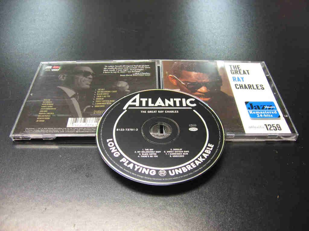 The Great - RAY CHARLES - 1 CD - Opole