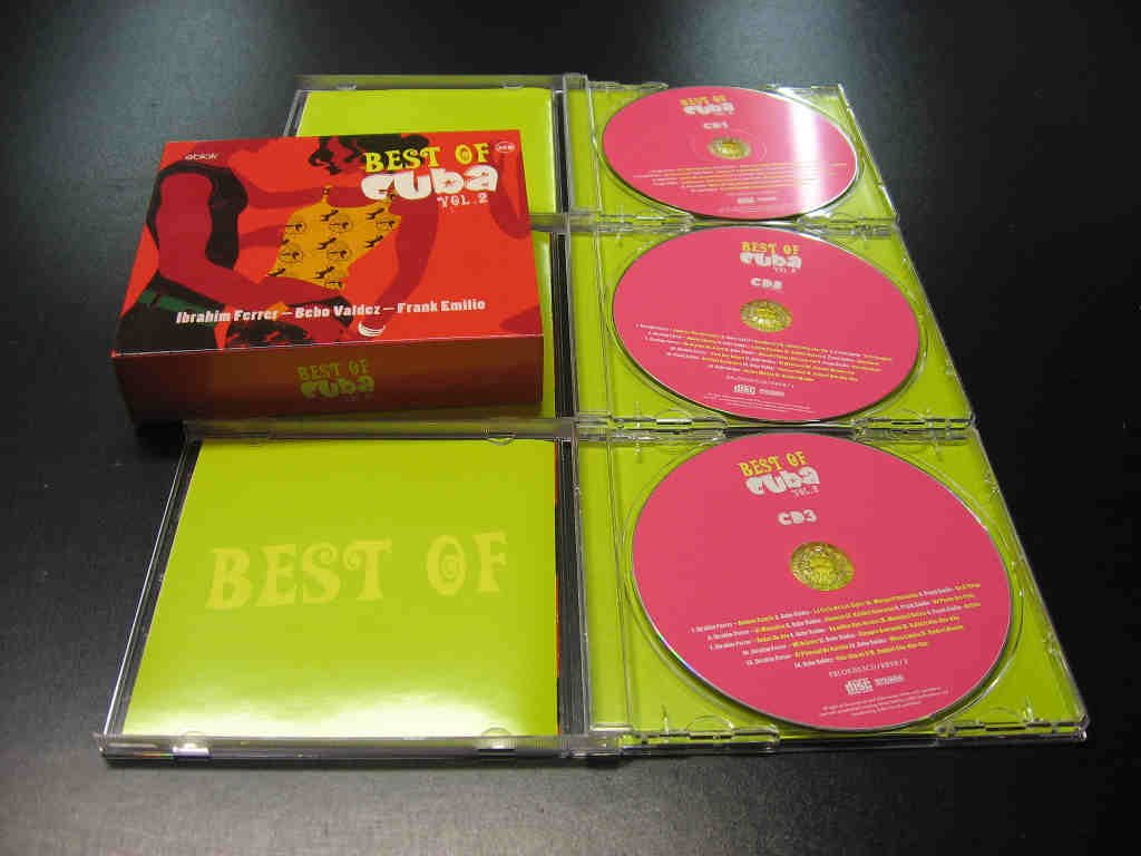 BEST OF CUBA vol.2 Salsa, Brazylijska - 3 CD - Opole