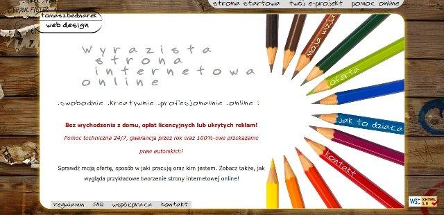 Tworzenie stron internetowych ONLINE. >>> Wyrazista-strona.pl <<< Projektowanie strony www