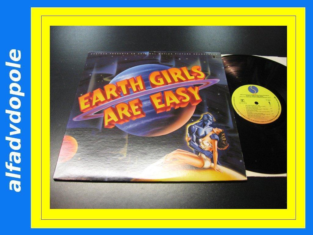 EARTH GIRLS ARE EASY - SOUNDTRACK LP - Opole 0136