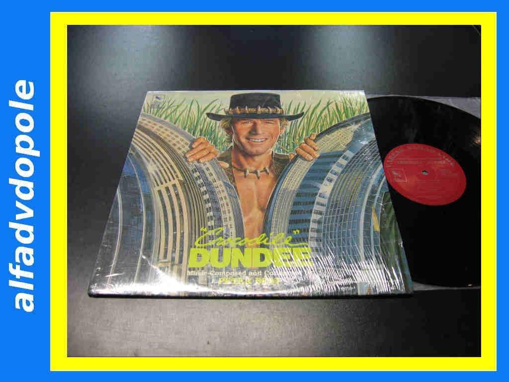 CROCODILE DUNDEE - SOUNDTRACK - LP - Opole 0061