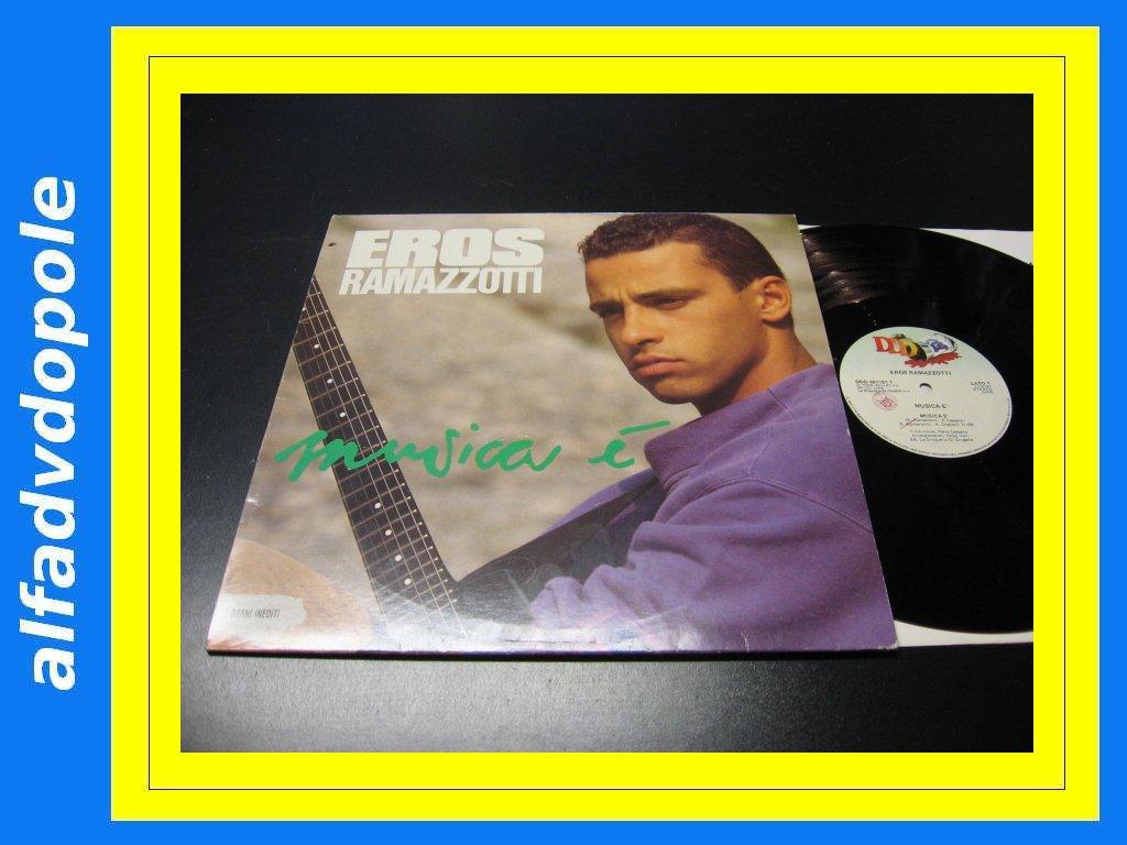 EROS RAMAZZOTTI - MUSICA E - LP - Opole 0157