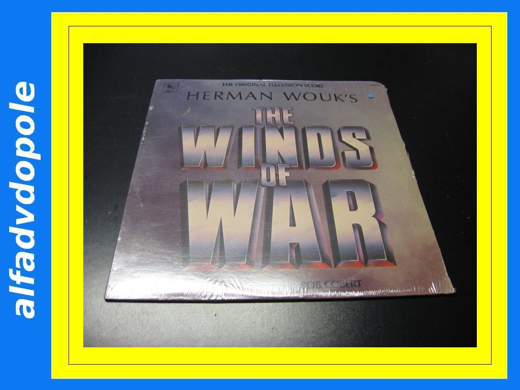 THE WINDS OF WAR Music by Bob Corbet LP Opole 0158