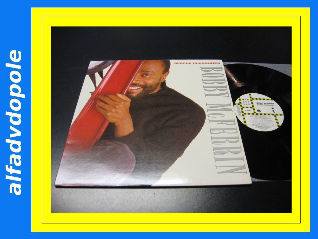 BOBBY McFERRIN - SIMPLE PLEASURES LP _ Opole 0160