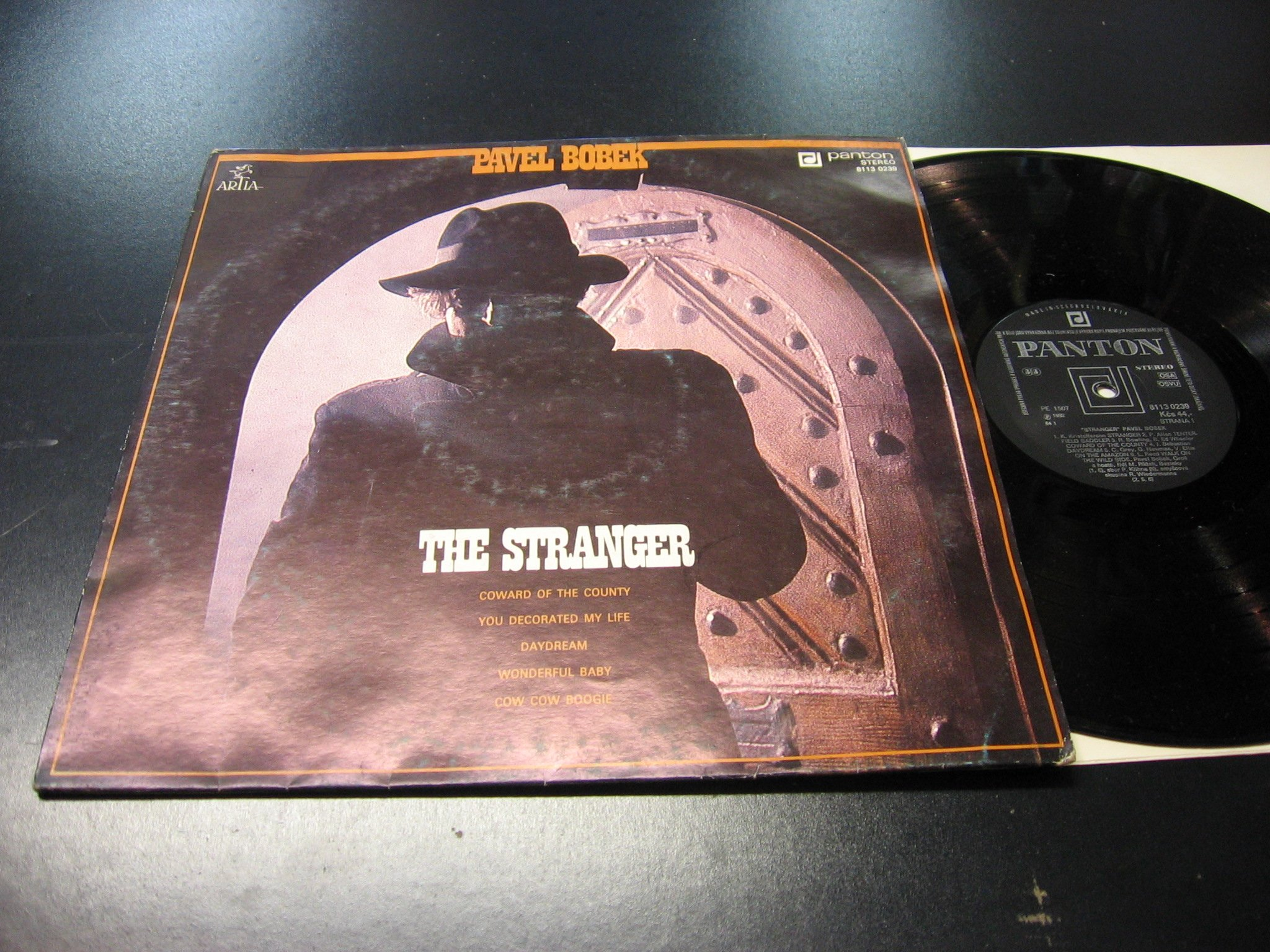 PAVEL BOBEK - THE STRANGER - LP - Opole