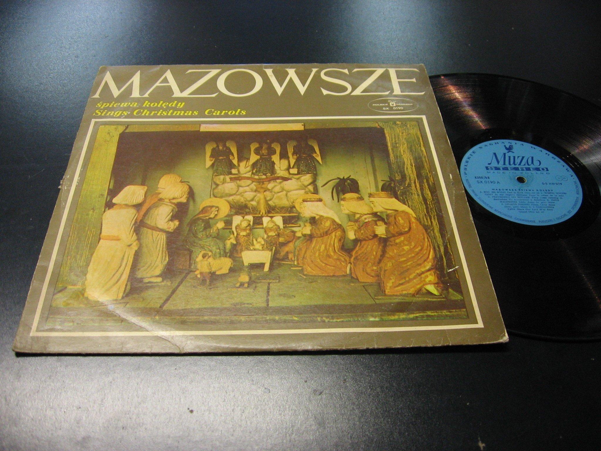 MAZOWSZE ŚPIEWA KOLENDY `````````` LP ```````````` Opole