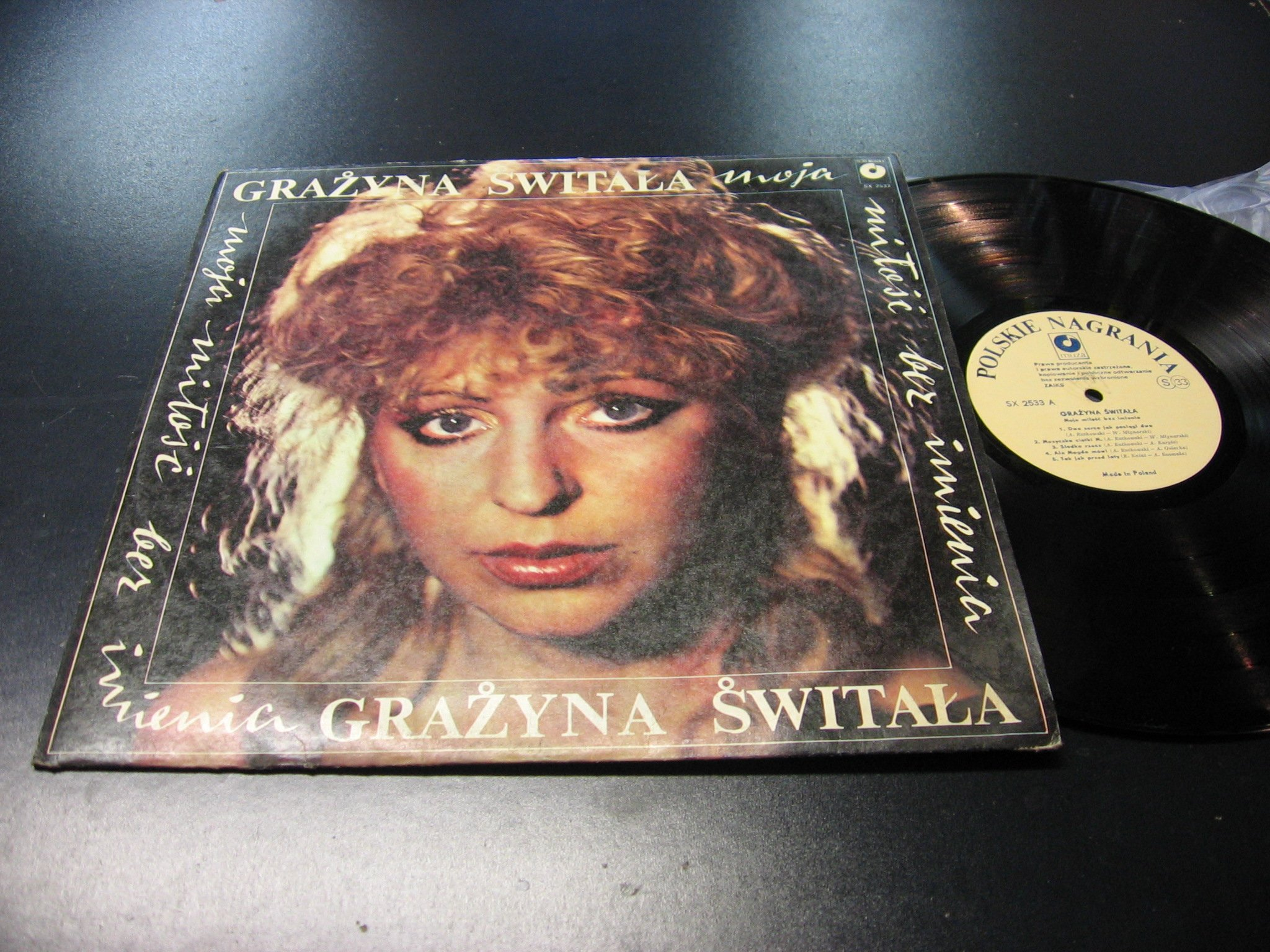 Grażyna Świtała - Moja Miłość Bez - LP - Opole