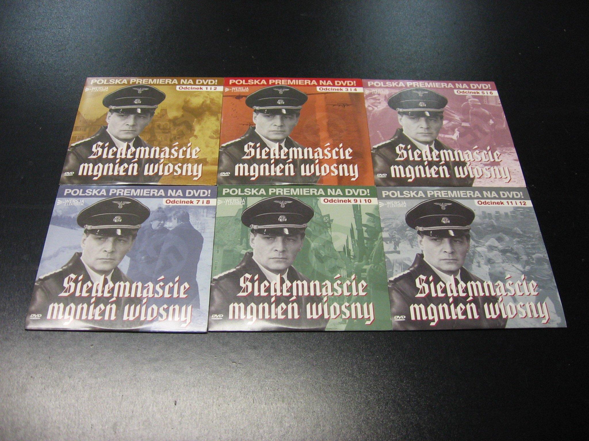 SIEDEMNAŚCIE MGNIEŃ WIOSNY - od 1 do 12 części DVD - Opole