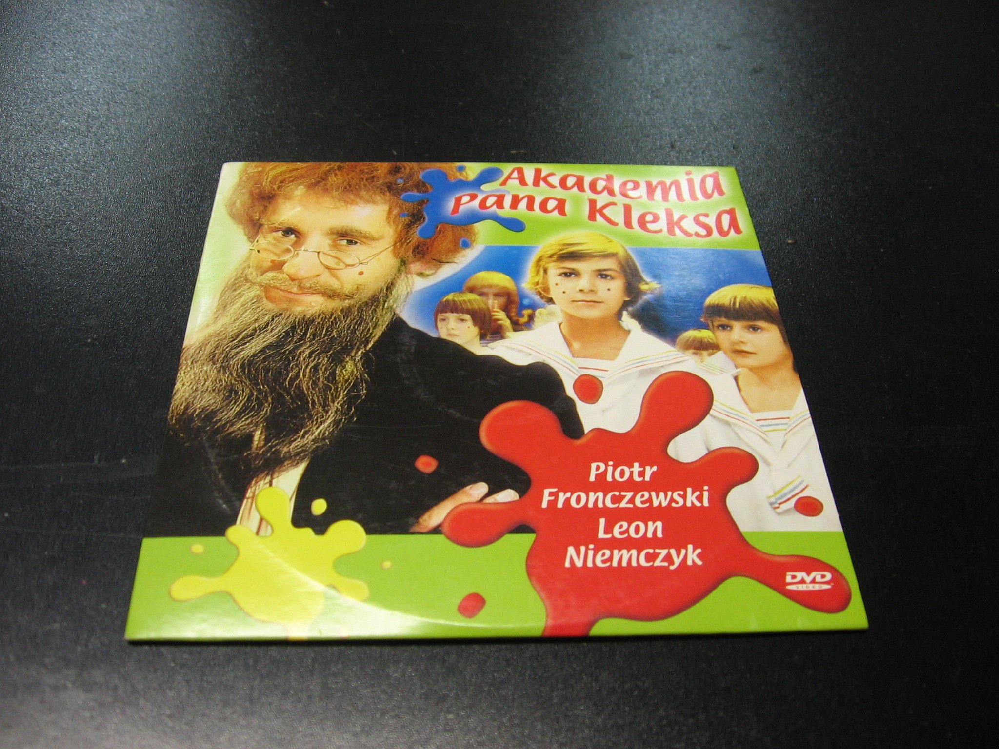 AKADEMIA PANA KLEKSA - PIOTR FRONCZEWSKI `````````` DVD ```````````` Opole