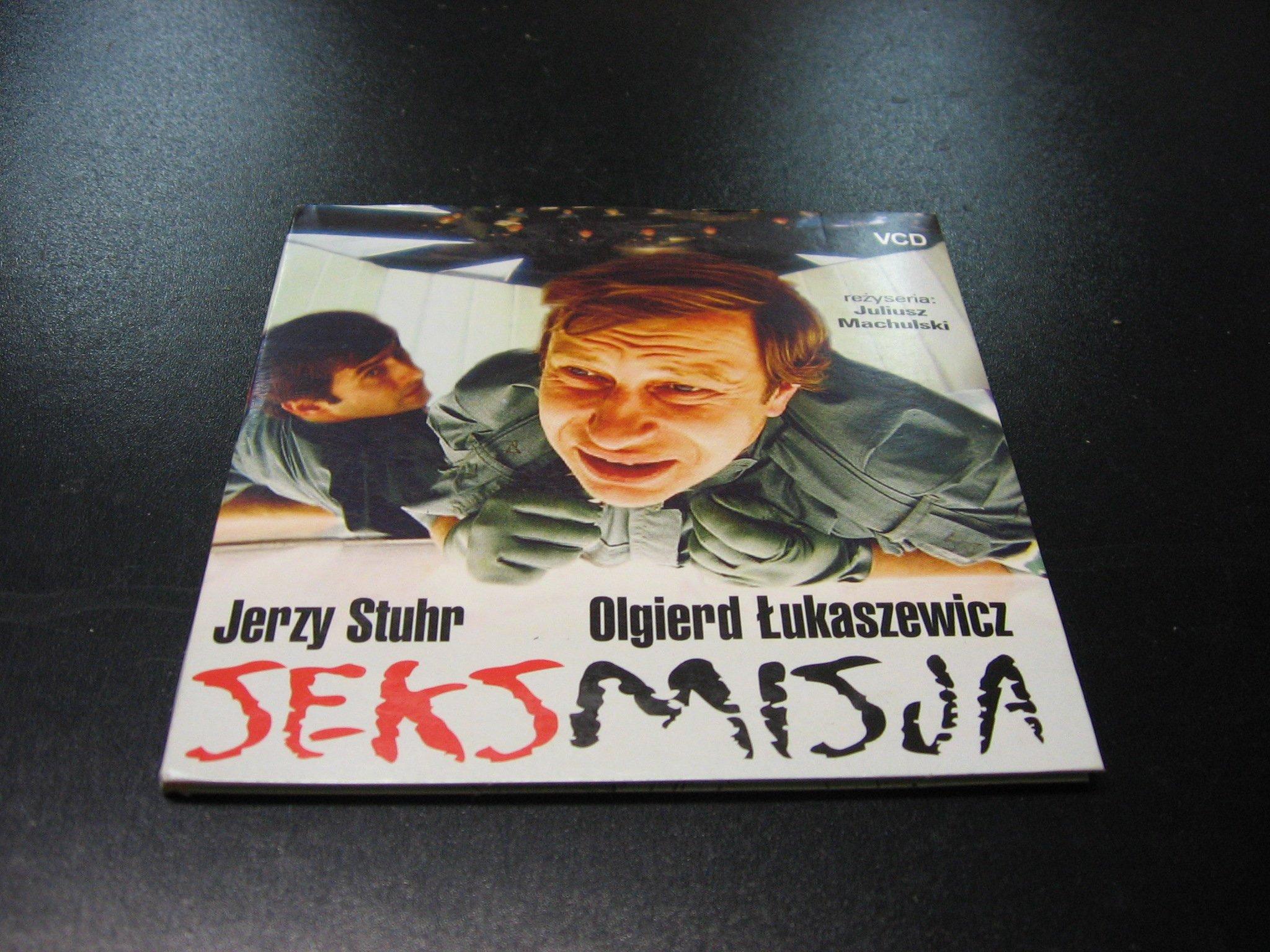 SEKSMISJA - JERZY STUHR OLGIERD ŁUKASZEWICZ VCD - Opole