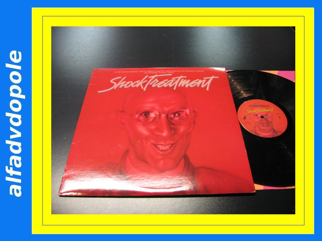 RICHARD OBRIEN - SHOCK TREATMENT `````````` LP ```````````` 0130 Opole
