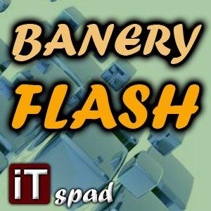 Banery w technologi FLASH - statyczne i animowane