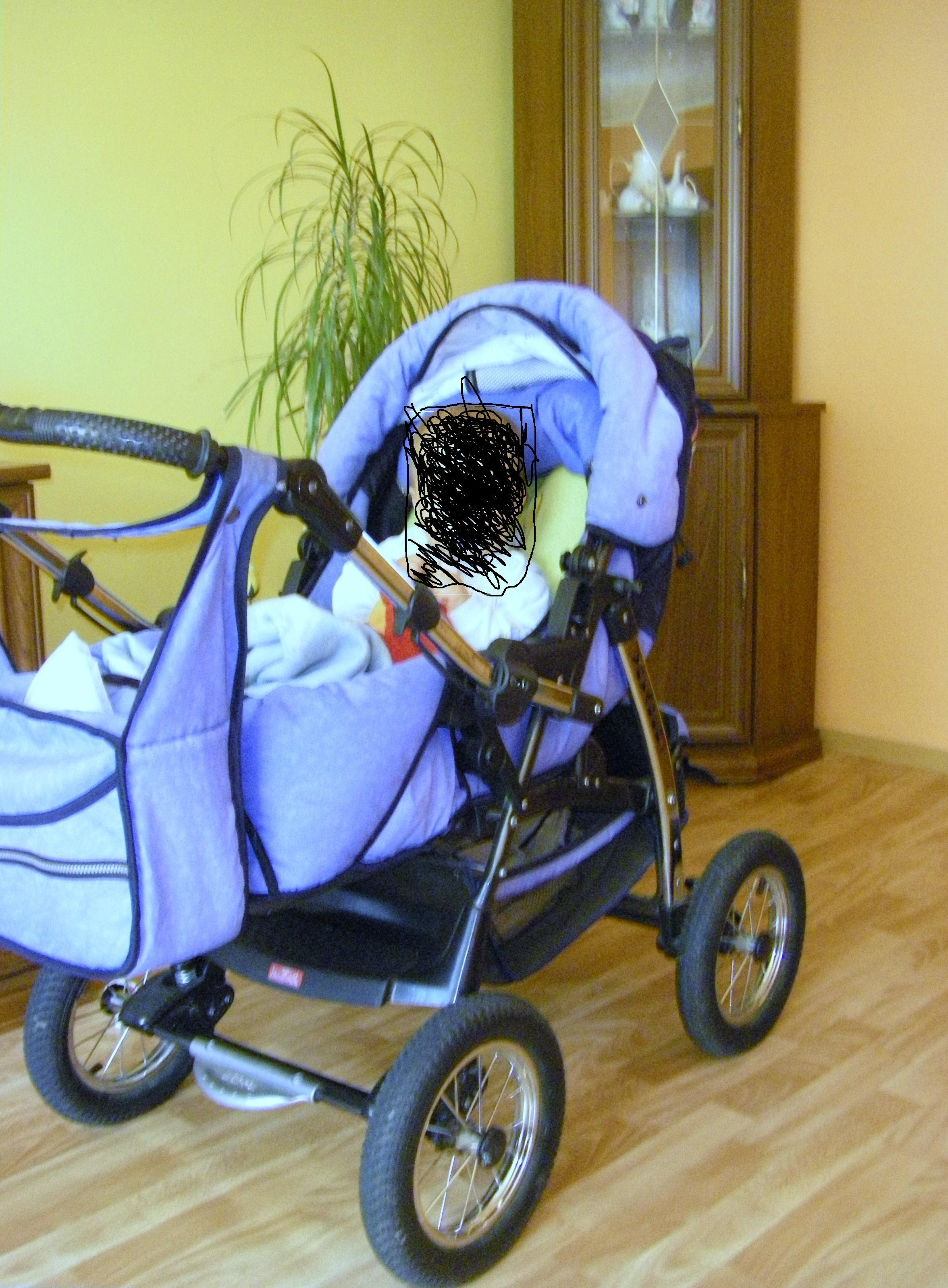Sprzedam wózek dziecięcy 2w1(gondola+spacerówka+ torba) mało używany zadbany POLECAM