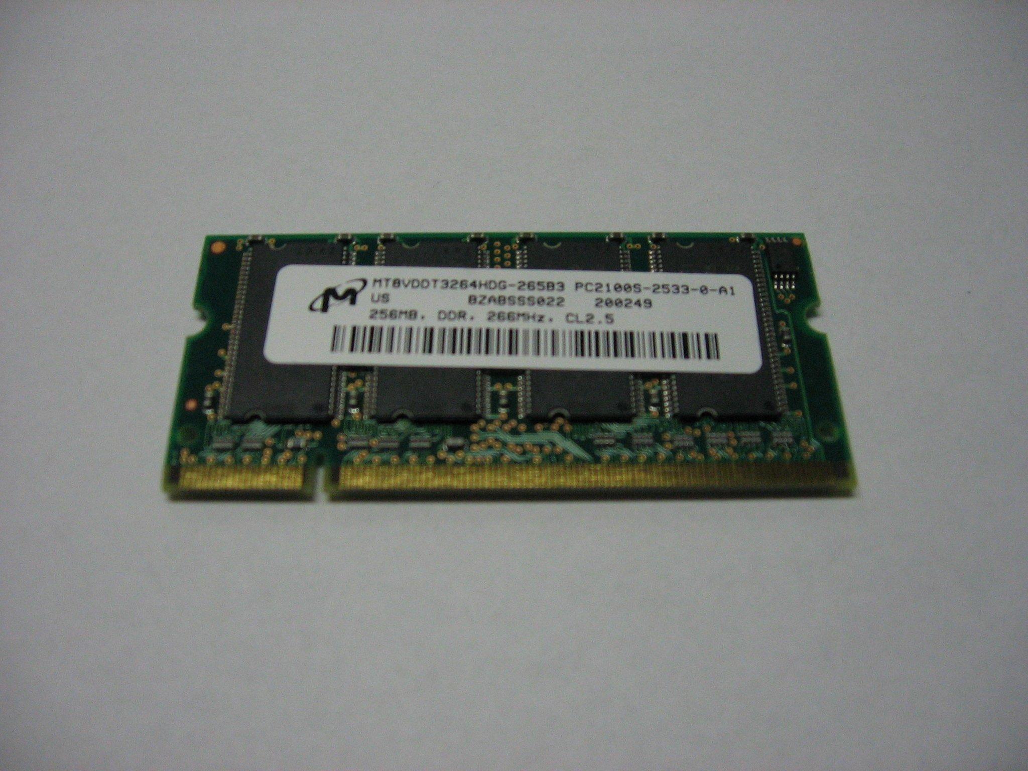 Pamięć RAM MT8VDDT3264HDG-265b3 DDR 256MB - Opole