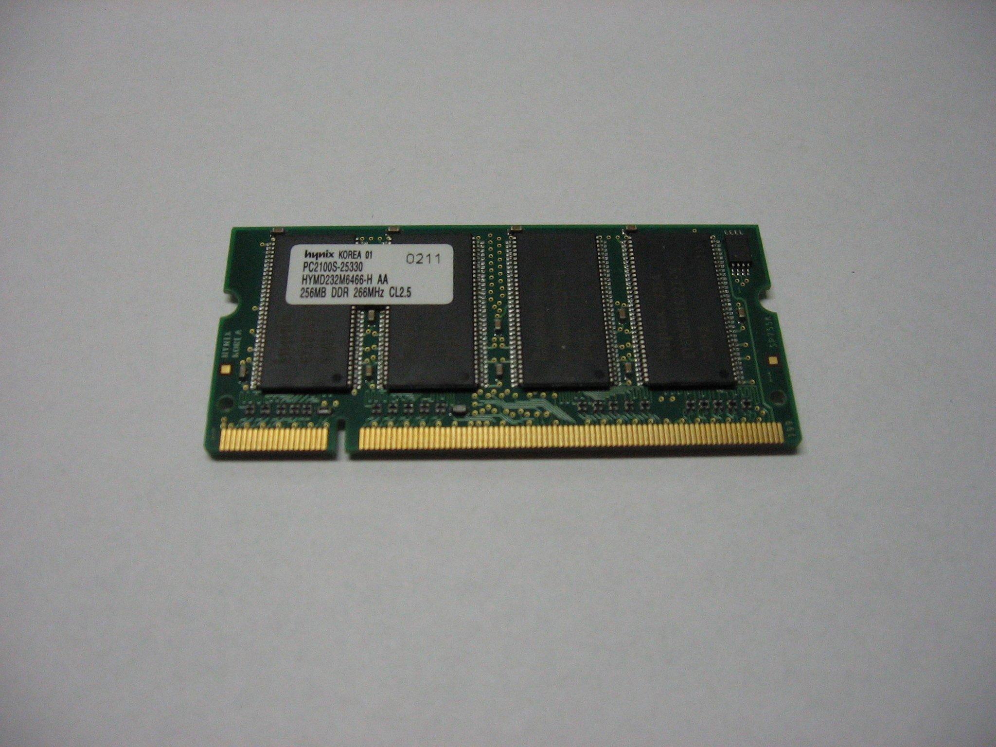 Pamięć RAM PC2100S-25330 DDR 256MB 266MHz - Opole