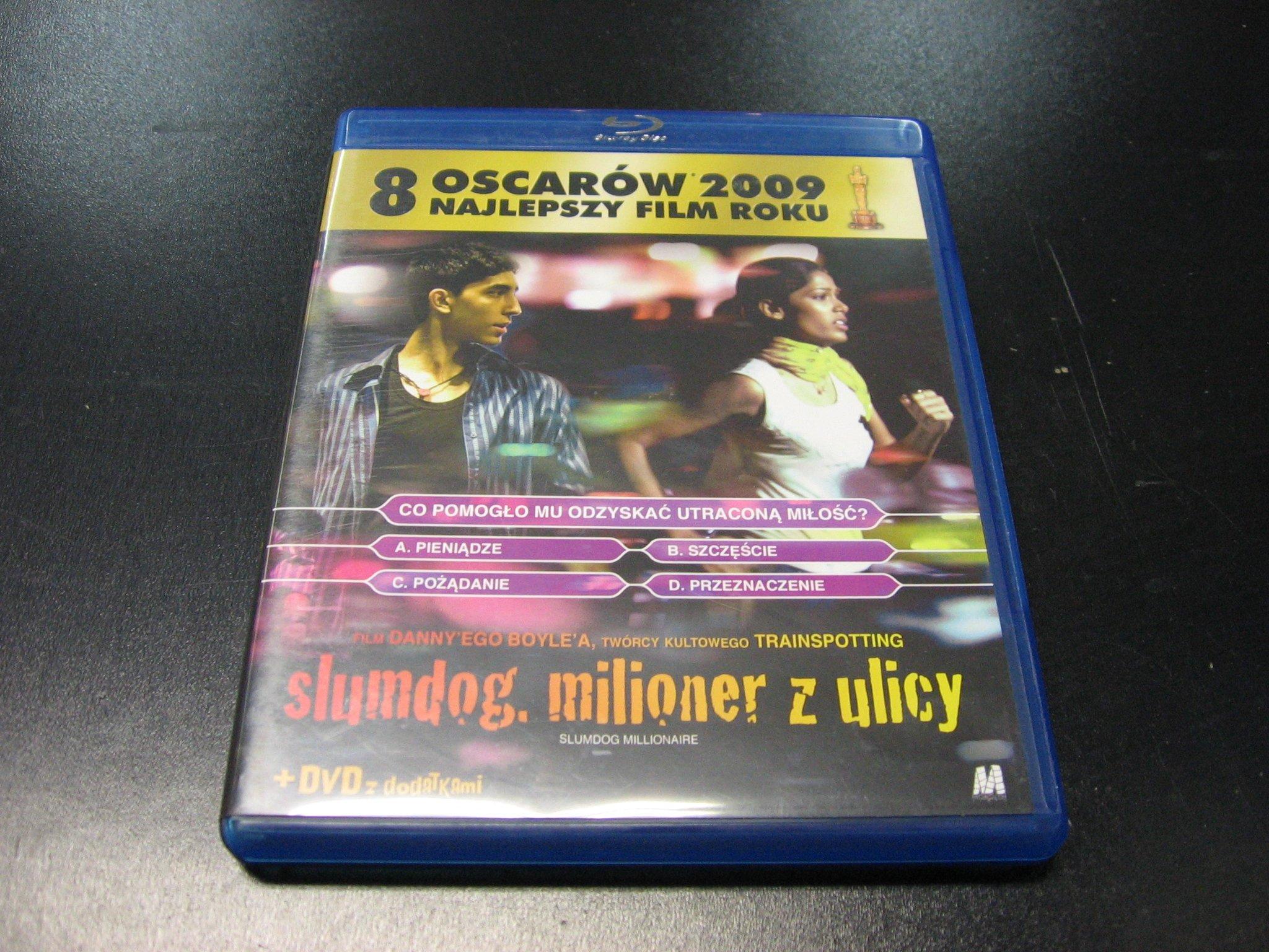 SLUMDOG MILIONER Z ULICY 051 `````````` Blu-rey ```````````` Opole