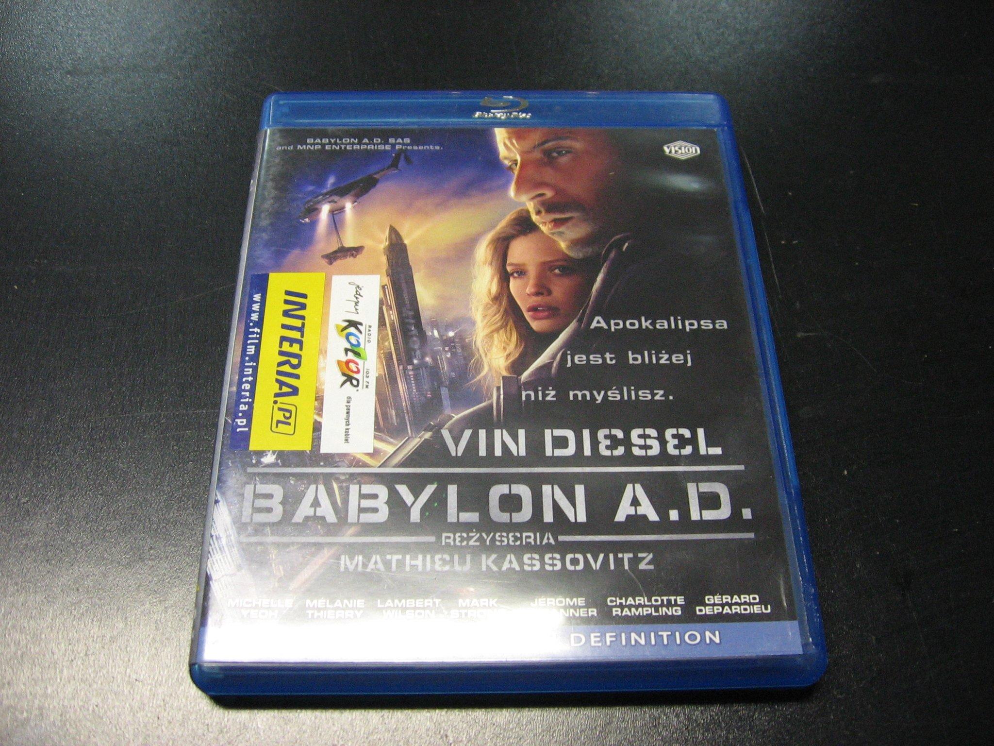 BABYLON A.D. 064 `````````` Blu-rey ```````````` Opole