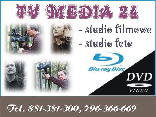 TV MEDIA 24 oferuje filmowanie ślubów, wesel. Teraz dla każdej Pary!