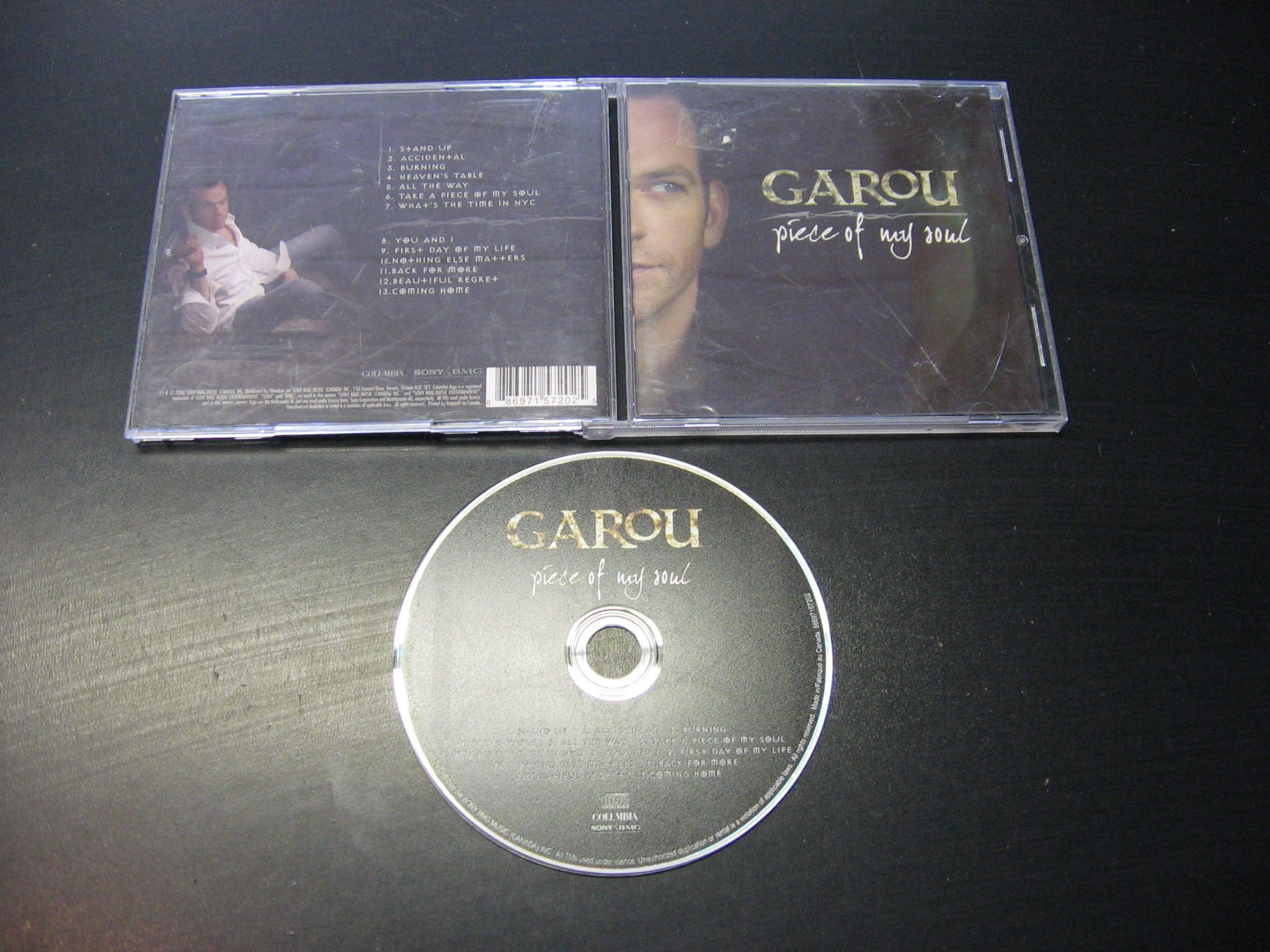 GAROU Piece Of My Soul ___ CD ___ Opole 0271 ```````````` Opole