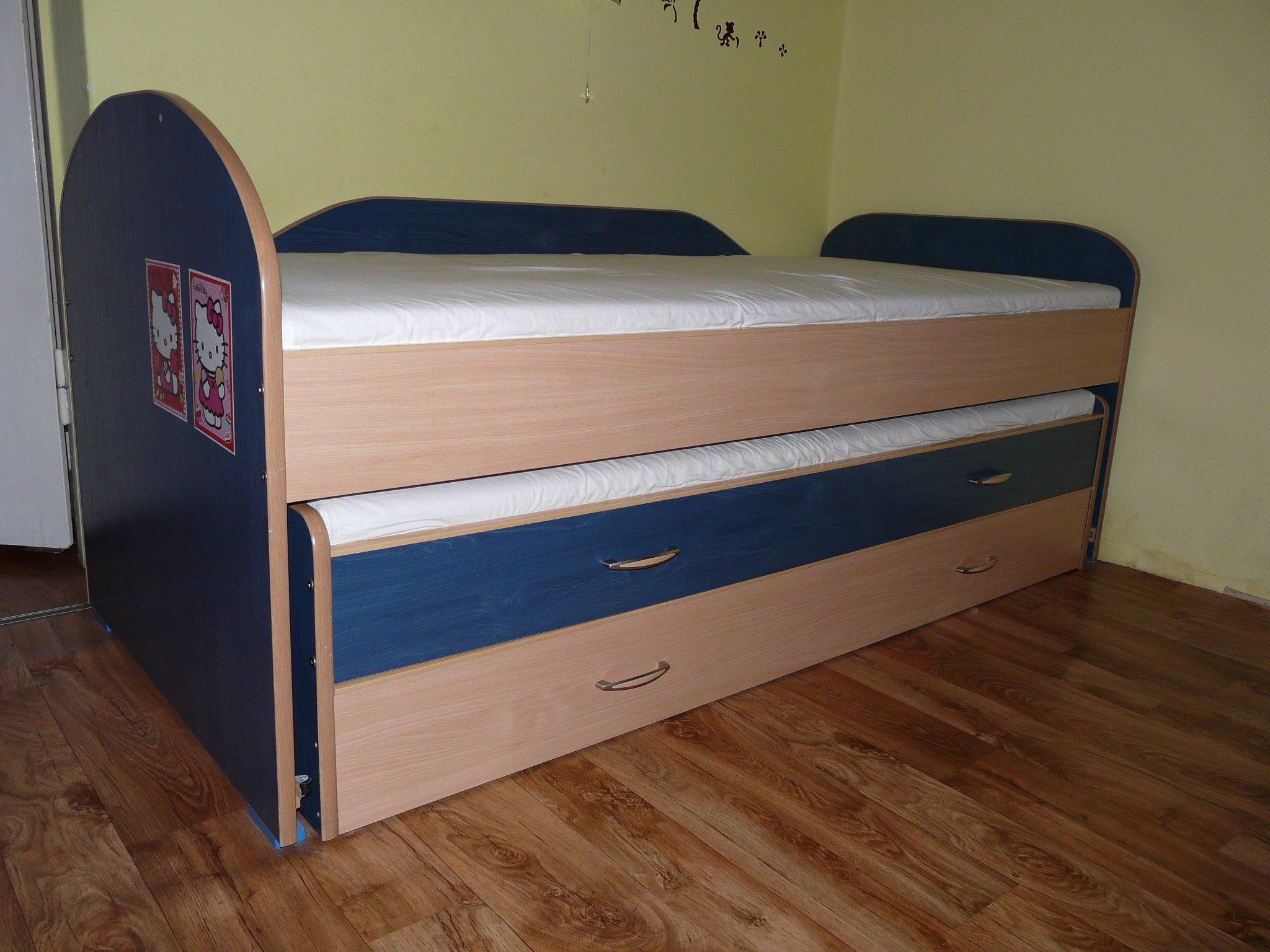 Podwójne łóżko dziecięce