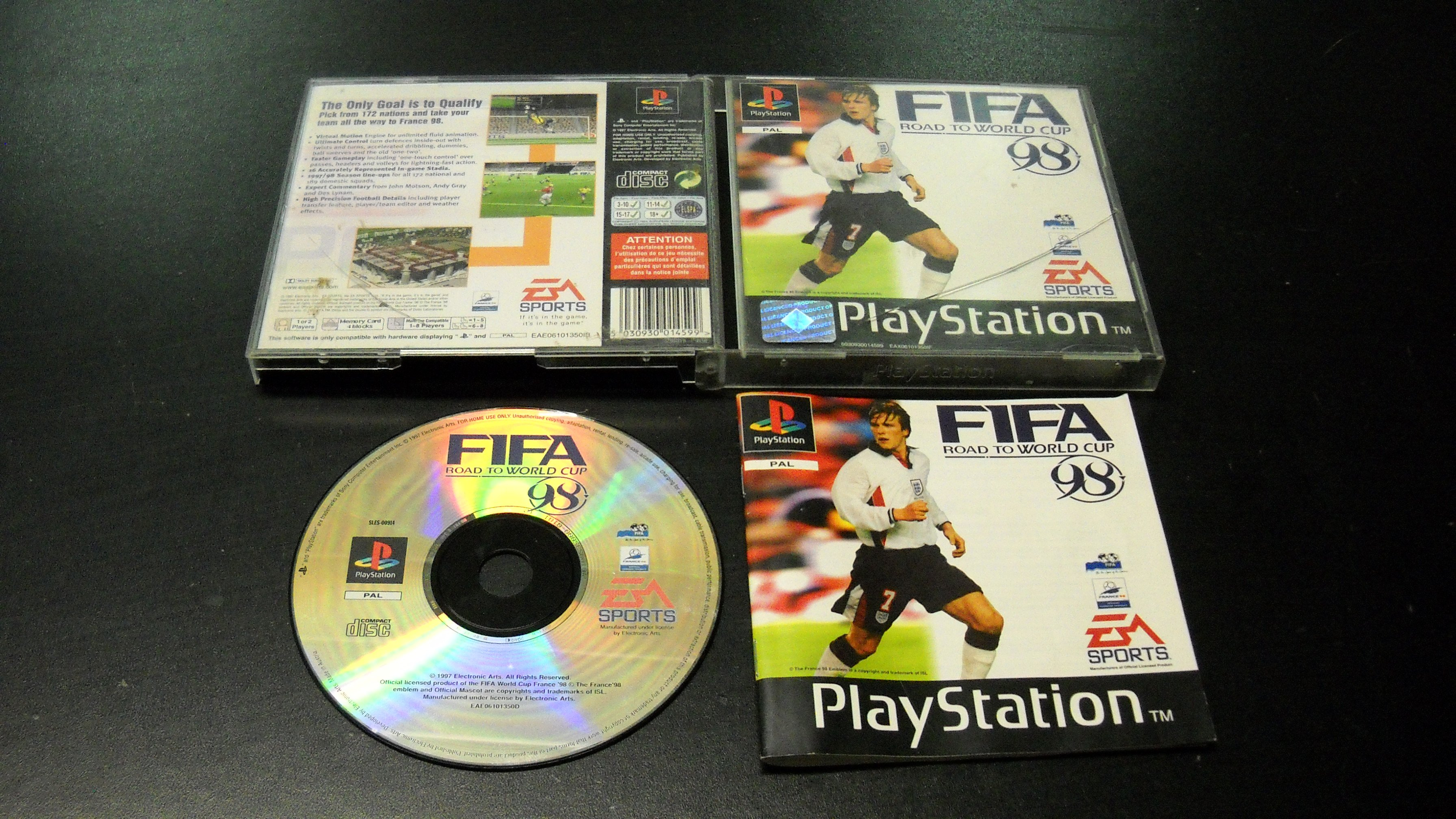 FIFA ROAD TO WORLD CUP 98 - PS1 - Opole