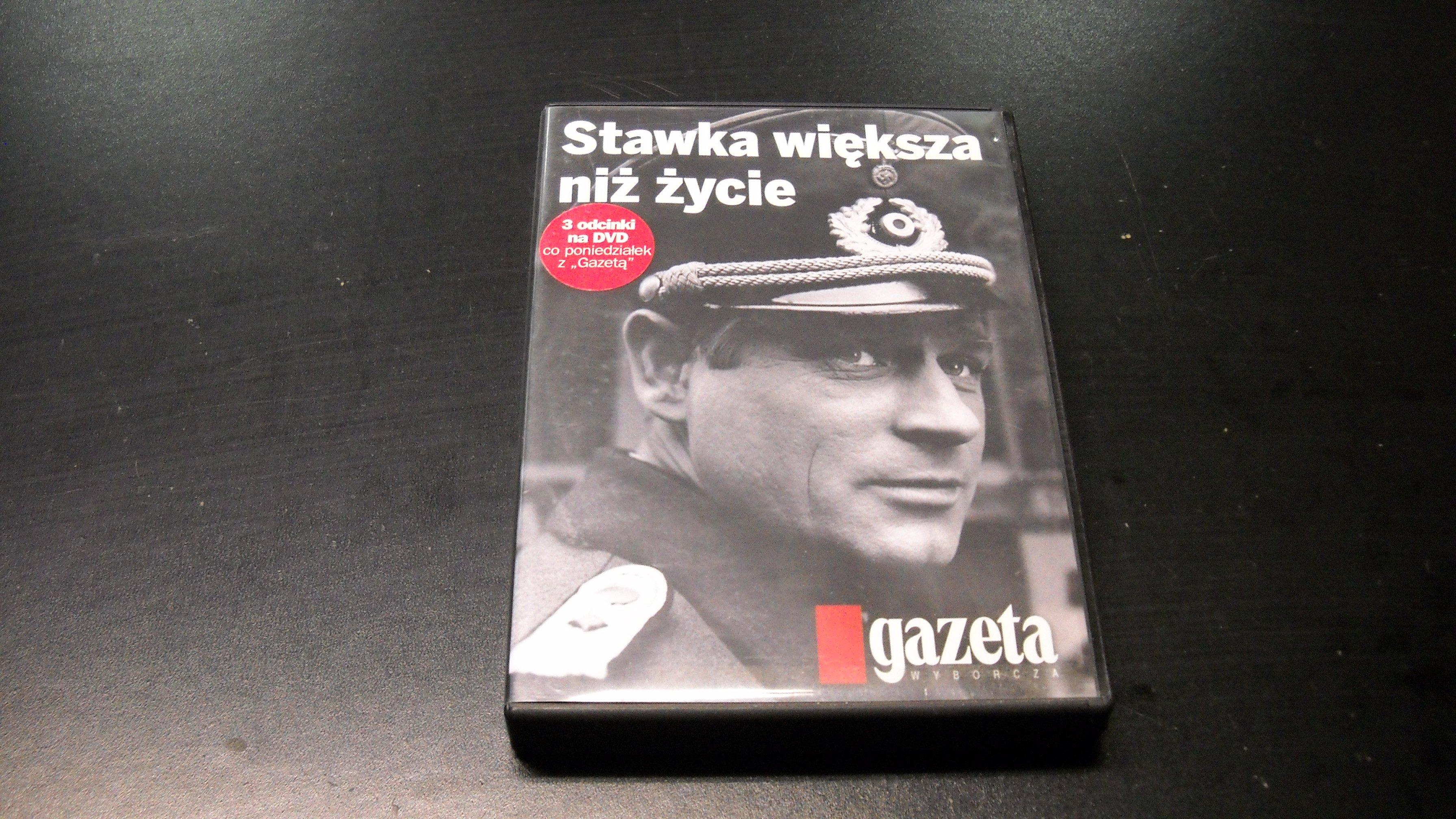 Stawka większa niż życie - 6 DVD - Opole AlleOpole.pl