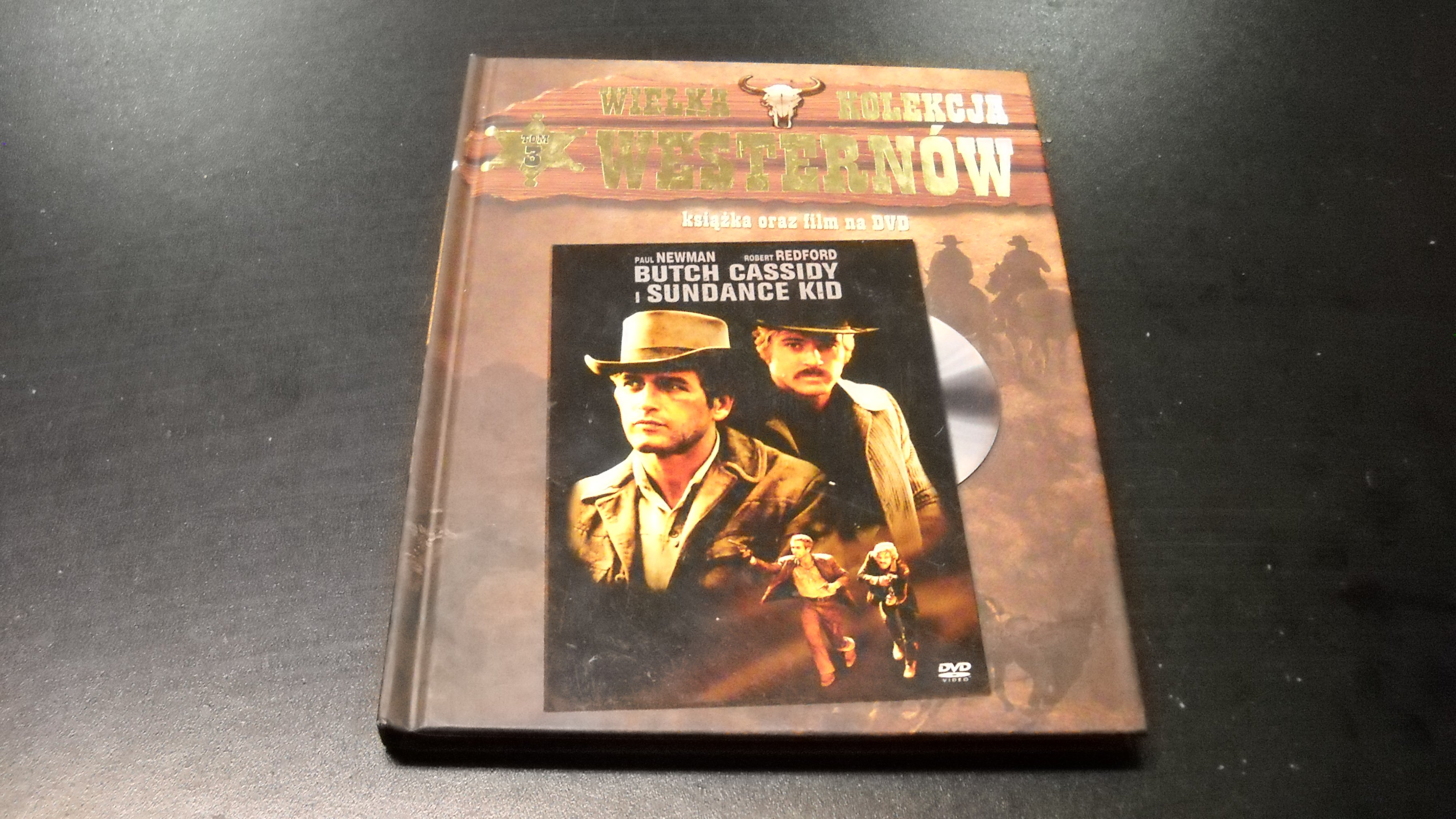 BUTCH CASSIDY I SUNDANCE - REDFORD NEWMAN  DVD - Opole AlleOpole.pl