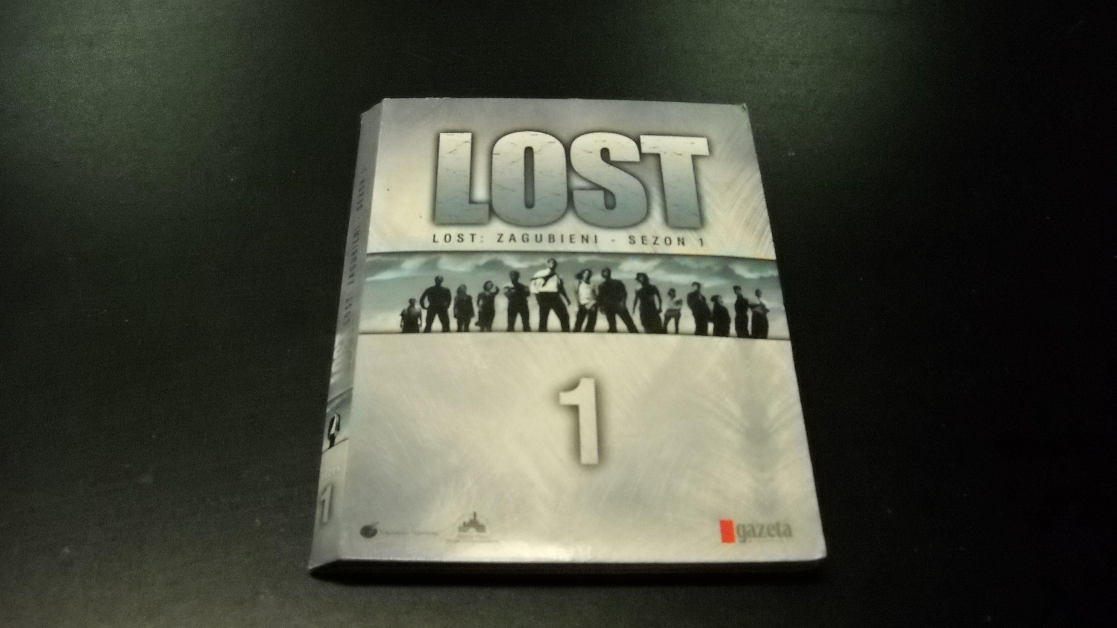 LOST 1 ZAGUBIENI SEZON 1  8 DVD  Opole AlleOpole.pl