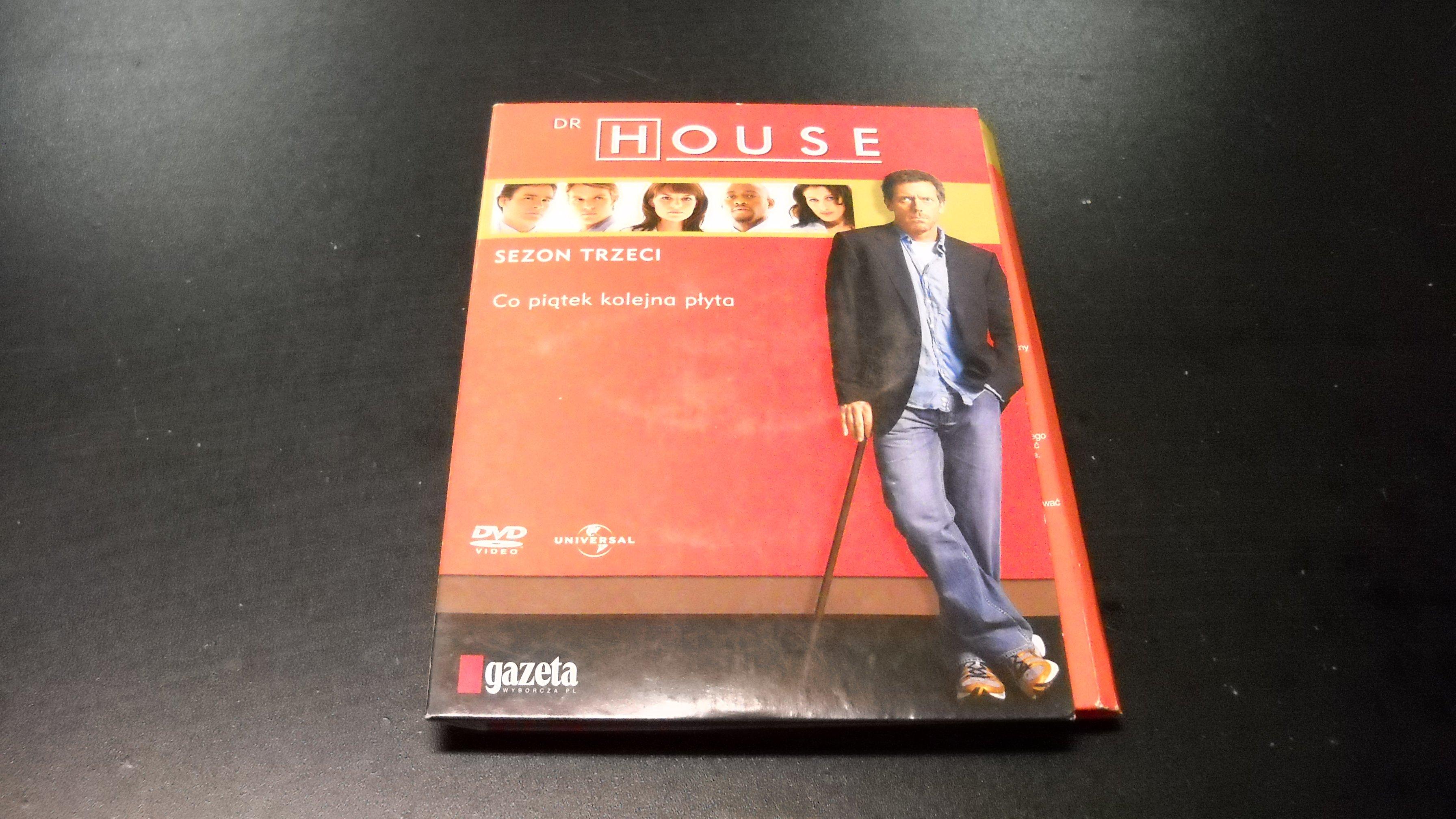 Dr House Sezon 3 ```````````` 8 DVD ```````````` Opole AlleOpole.pl
